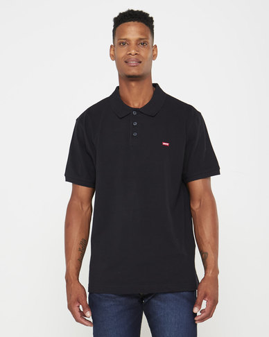 Housemark Polo Shirt Black