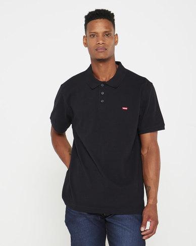Housemark Polo Shirt Black