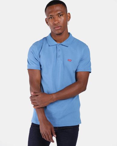 Housemark Polo Shirt Blue