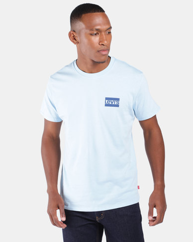 Logo Graphic Tee Blue