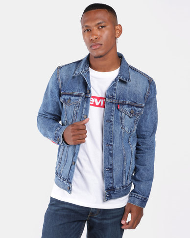 Unbasic Icon Trucker Jacket Blue