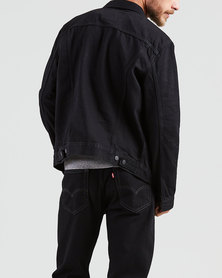 Trucker Jacket Black