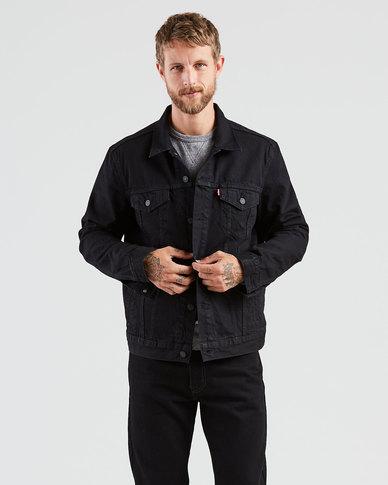 Trucker Jacket Black