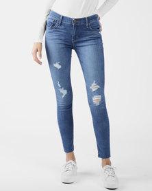 710 Super Skinny Jeans Blue