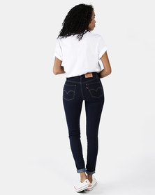721 High Rise Skinny Jeans Blue