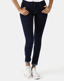 721 High Rise Skinny Jeans Blue
