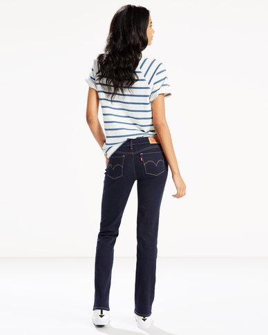 712 Slim Jeans Blue