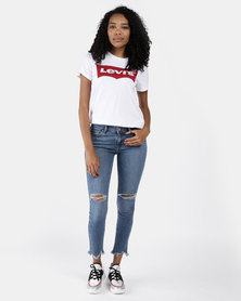 Levi's ® 711 Skinny Ankle Jeans Blue
