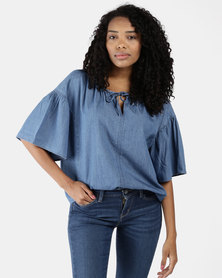 Leslie Top Blue