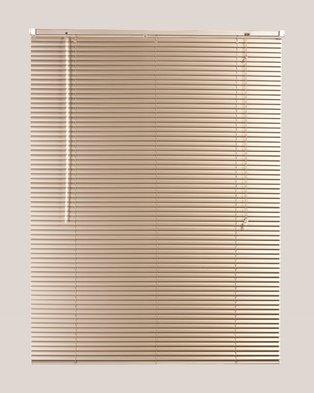 87a15984dd5 Decor Depot 25 mm Aluminium Venetian Blind Fawn