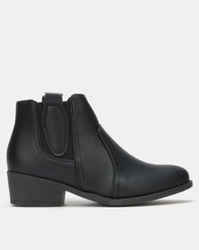 Carlo Bossi Ankle Boot Black