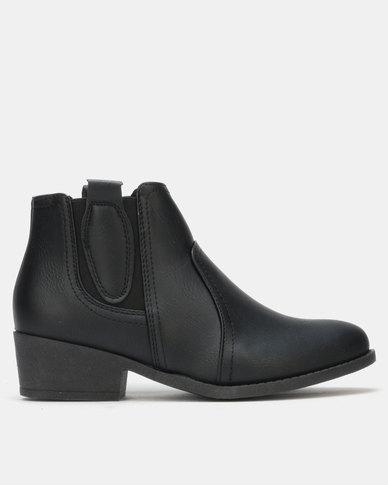 Carlo Bossi Ankle Boot Black