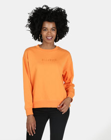Billabong Vital Crew Sweatshirt Orange