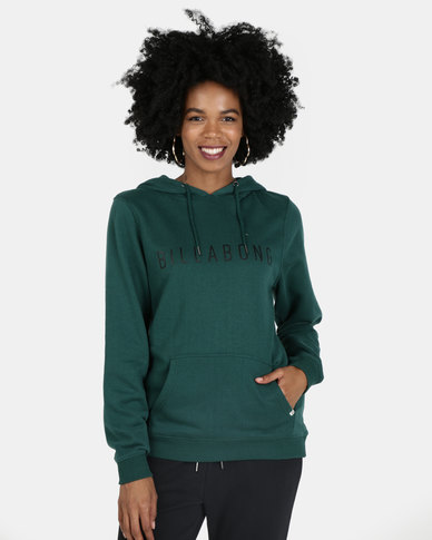 Billabong Rebellion Pop Hood Green