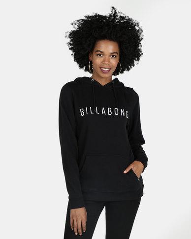 Billabong Rebellion Pop Hood Black