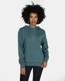 Billabong Saltwater Pop Hood Green