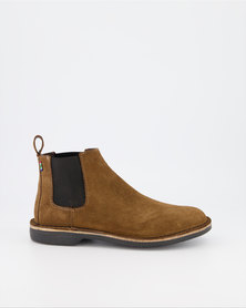 Veldskoen Shoes Chelsea Boots Brown Leather Shoes