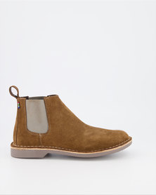 Veldskoen Shoes Chelsea Boots Brown Leather Shoes Grey Soles