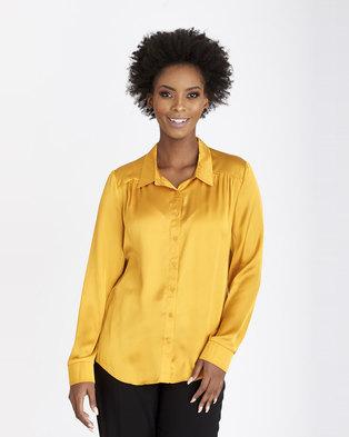 4d6b9648f06f10 Contempo The Essential Shirt Gold