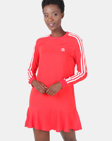 adidas Originals Red Dress