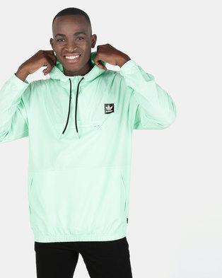 d8f4c66265574 adidas Originals Hip Packable Jacket Mint