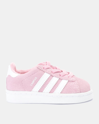 so cheap great fit shoes for cheap adidas Originals Campus EL Infants Sneakers Pink