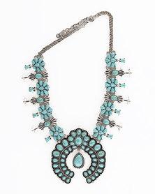 The Jewellery Box BOHO Squash Blossom Turquoise