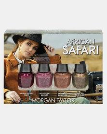 Morgan Taylor African Safari Mini 4 Pack Multi