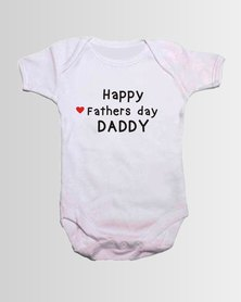 Qtees Africa Happy Fathers Day daddy baby grow