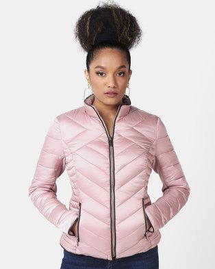 Sissy Boy Short Puffer Jacket Pink