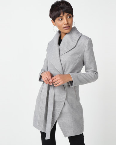 Sissy Boy Melton Coat Grey