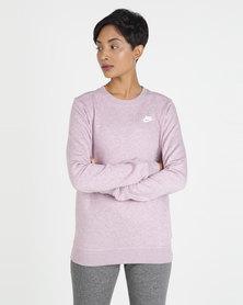 NIKE W NSW CLUB CREW FLC Sweatshirt Pink
