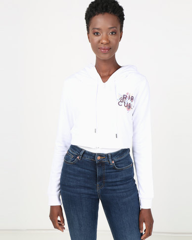 Rip Curl Cropped Bloomsweather White