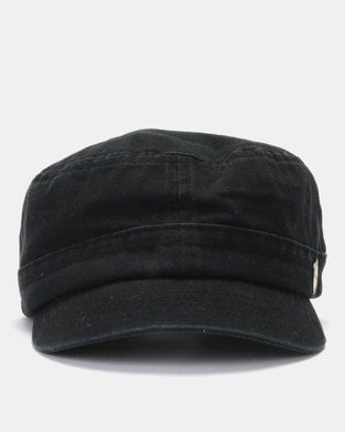 f0d1f73fb77 Rip Curl Essential Station Cap Black