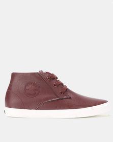 Soviet Galsta Sneakers Burgundy