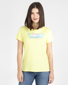 Levi's® Perfect Graphic Tee Yellow