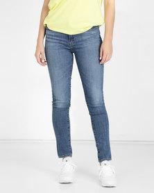 Levi's® 721 High Rise Skinny Jeans TGIF Blue