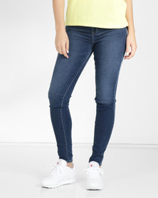 Levi's® 720 High Rise Super Skinny Jeans Blue Me Away