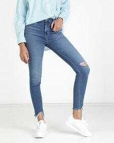 Levi's® 720 High Rise Super Skinny Jeans Get The Party Started Blue