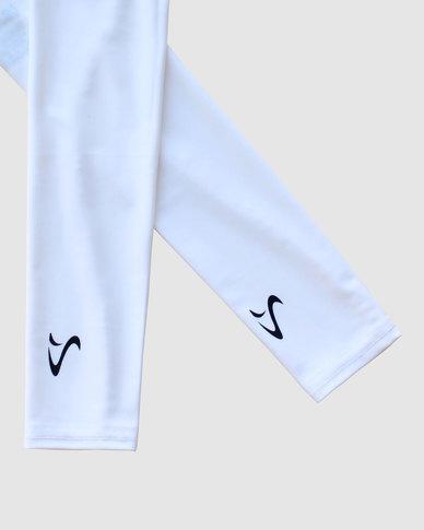 Vivolicious Essential White TechFIT UV Arm Sleeves
