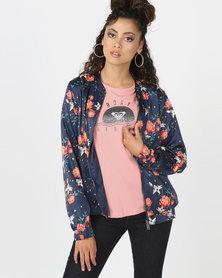 Roxy Hidden Star Jacket Dress Blue