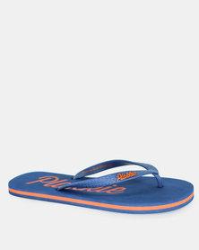 Blue and Orange Plakkie