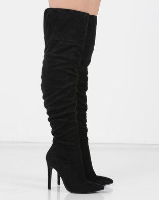 2c7c46a6a8b Utopia Long Shuffle Boots Black