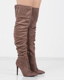Utopia Long Shuffle Boots Neutrals