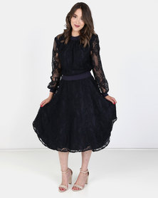 Nucleus Feminist Lace Dress