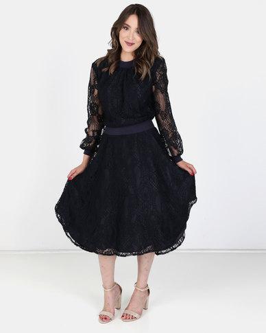 Nucleus Feminist Lace Dress