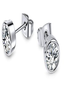 Dhia Set of 2 Stud & Drop Earrings Made with Crystals from Swarovski