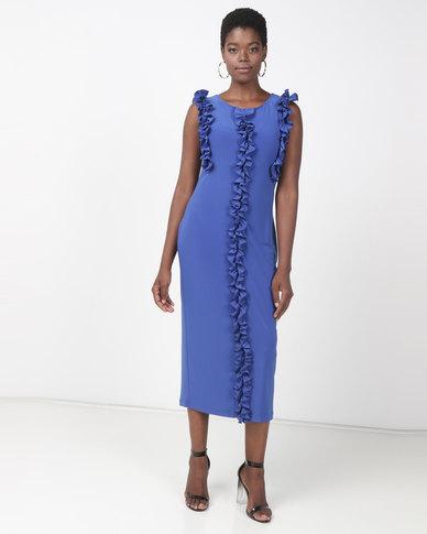 Famous Vixen Dress Royal Blue