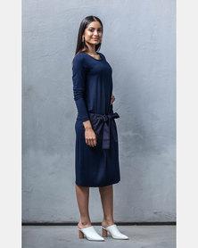 Sarah Feldman Rachel Dress Navy
