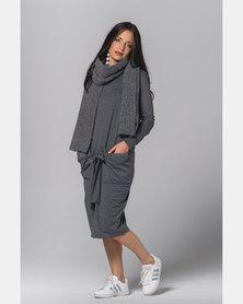Sarah Feldman Rachel Dress Grey